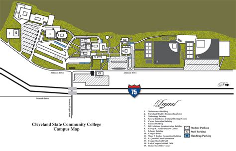 28 Chattanooga State Campus Map   The University Of