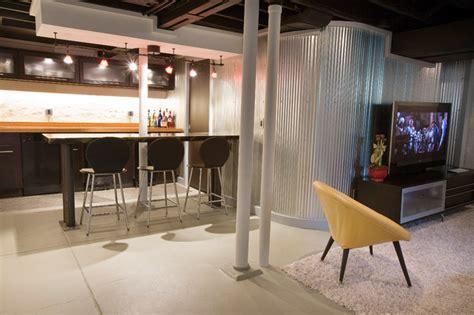 duncan avenue basement renovation modern basement