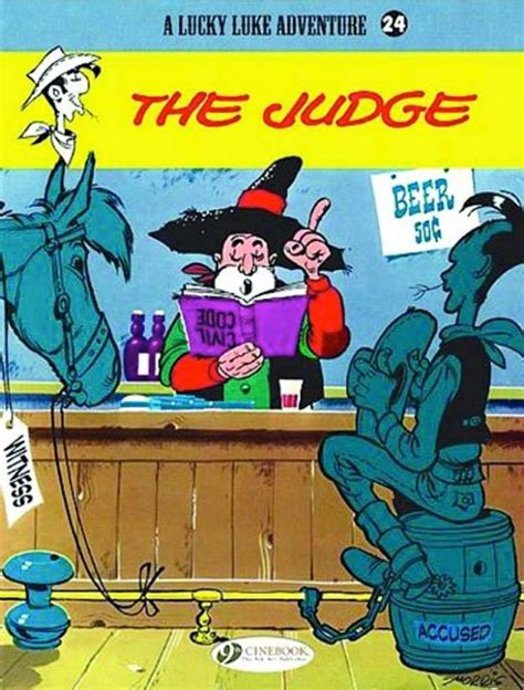 The Judge Lucky Luke the judge lucky luke sc by morris from series