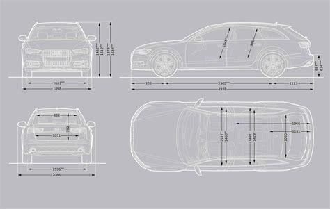 Audi A6 Size Dimensions by Audi A6 Allroad Quattro Audi Uk