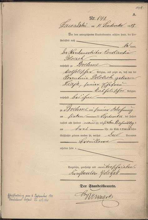 Search German Birth Records Birth Records Translation Help German Europe Rootschat