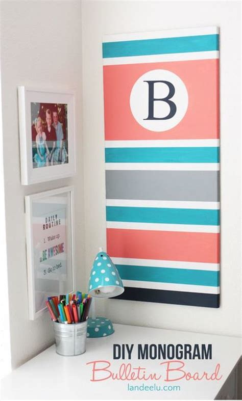 bulletin board ideas for bedroom diy bulletin board ideas diy monogram monograms and board
