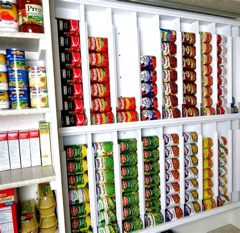 Pantry Can Storage 16 Pantry Organization Ideas That Your Kitchen Will