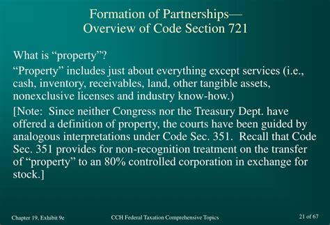 tax code section 351 ppt cch federal taxation comprehensive topics chapter 19