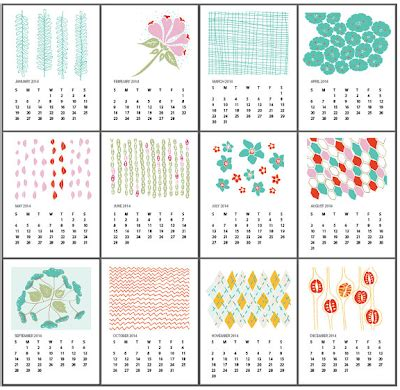 printable calendar elli 5 free printable 2014 calendars hip mama s place