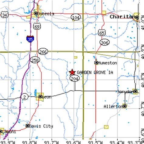 Garden Grove Iowa Map Garden Grove Iowa Ia Population Data Races Housing