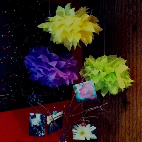 How To Make Lorax Trees Out Of Tissue Paper - quot truffalo trees quot from the lorax made out of tissue paper