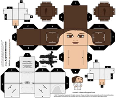 R3 Papercraft - wars custom cubeecraft templates by cyberdrone on