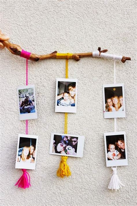 Hanging L Ideas 25 best ideas about polaroid display on