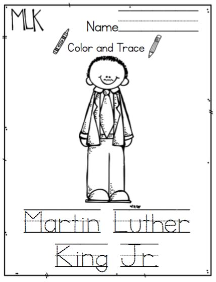 Printable Martin Luther King Jr