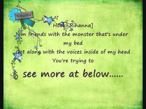 friends with the monster under my bed i m friends with the monster that s under my bed youtube