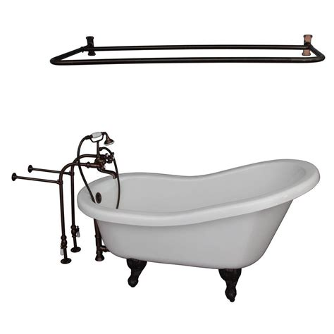 ball and claw bathtub barclay products 5 6 ft acrylic ball and claw feet