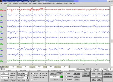 eeg pattern in math eeg data processing and classification with g bsanalyze