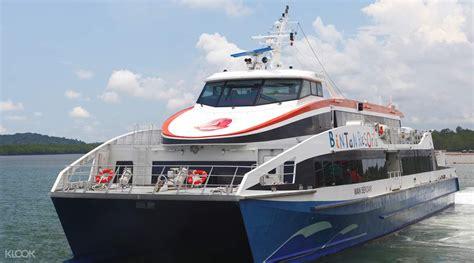 ferry from singapore to bintan bintan resorts ferry via lagoi bay klook