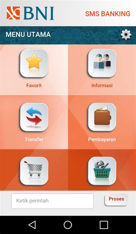 format transfer sms banking bni syariah bni sms banking android apps on google play