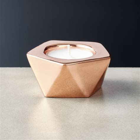 Candle Light Holder by Gami Gold Tea Light Candle Holder Cb2
