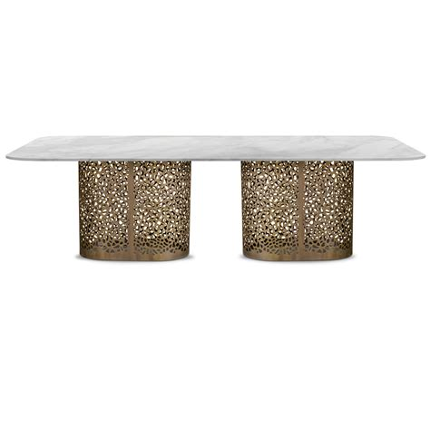 large rectangular dining table large contemporary italian rectangular marble dining table