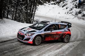 Rallye Hyundai Hyundai Cars News I20 Wrc Debuts At Rallye Monte Carlo