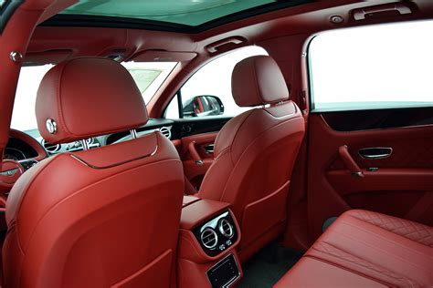 100 2017 Bentley Bentayga Red Interior 2017 Bentley