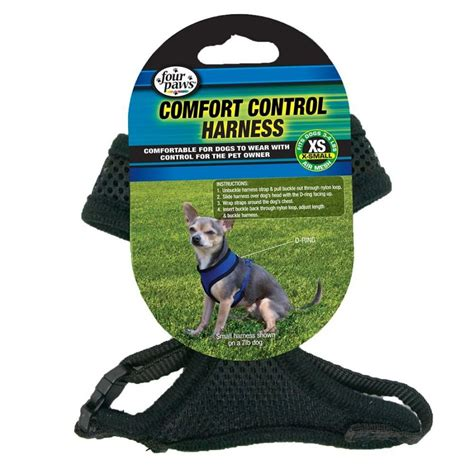 four paws comfort control harness four paws four paws comfort control harness black