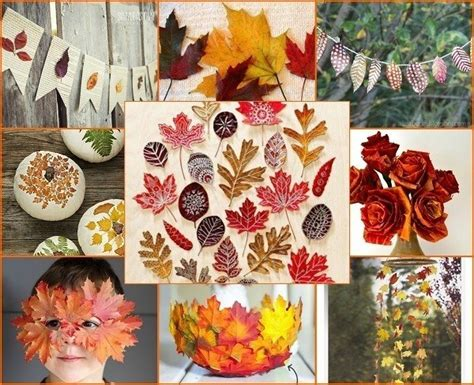 18 fabulous fall diy projects using autumn leaves