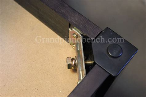 piano bench hardware how to put together a piano bench