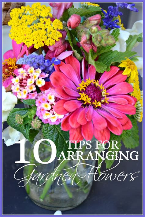 10 tips for arranging garden flowers a budget friendly idea stonegable