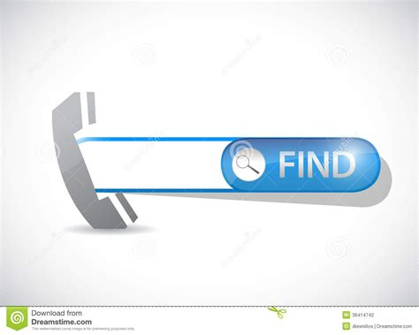 Email Information Search Search For Contact Information Illustration Design Stock Photography Image 36414742