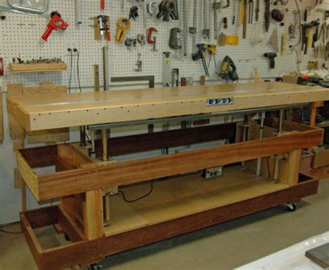 adjustable workbench   model airplane news
