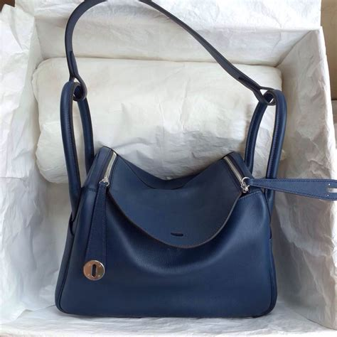 Hermes Lindy 7 112 popular hermes lindy bag 7k blue saphir leather