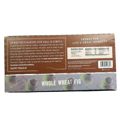 Dijamin Nature S Bakery Whole Wheat Fig Bar Original Box Of 6 evitamins nature s bakery whole wheat fig bars fig