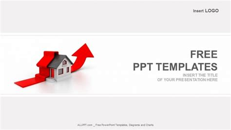 free real estate powerpoint templates growing home sales real estate powerpoint templates