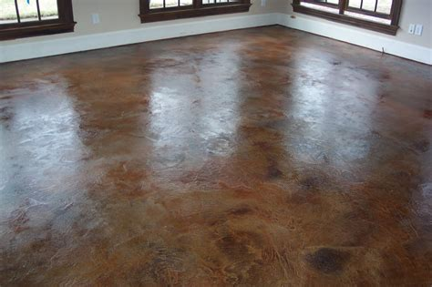 Concrete Stained Floors by Basement Remodeling Ideas Concrete Basement Floor