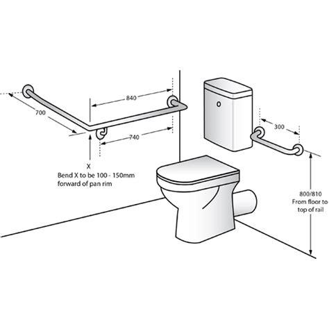 mlrx disabled wc rh grab rail concealed fix sss kirkbuild