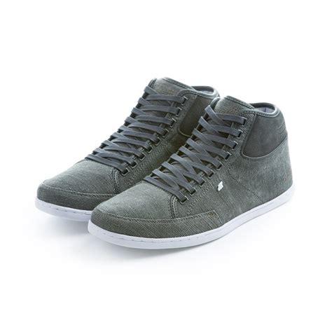 boxfresh swapp washed canvas hi top sneaker boxfresh