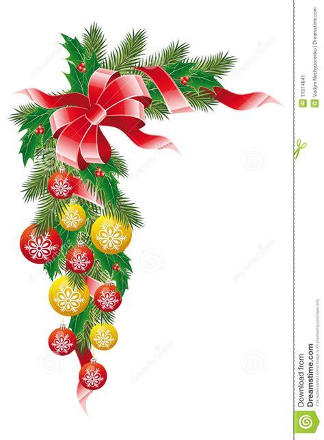 clipart natalizie decorazione di natale illustrazione vettoriale immagine
