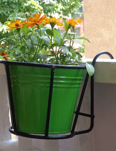 Planters For Wrought Iron Railings by Wrought Railing Planter