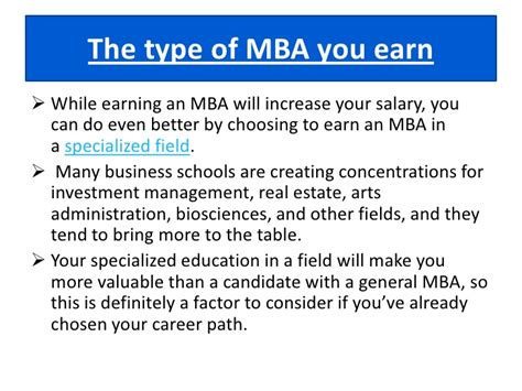 How Much Does An Mba Increase Your Salary by Masters In Business Administration