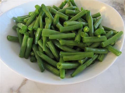Shelf Of Green Beans by 301 Moved Permanently