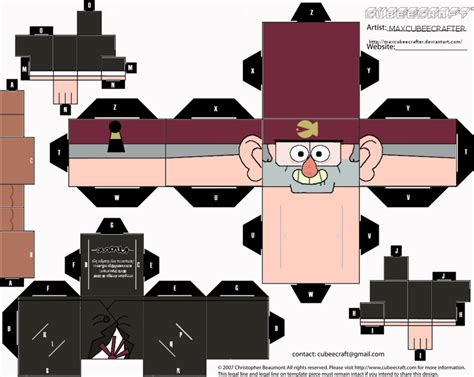 Papercraft For - wanda s papercraft gravity falls