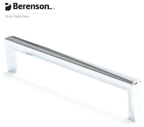 modern chrome cabinet pulls polished chrome cabinet pull by berenson