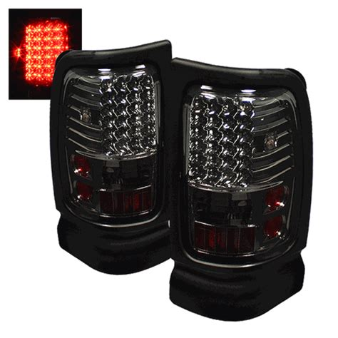 2001 dodge ram 1500 tail lights 1994 2001 dodge ram 1500 2500 euro style led tail lights