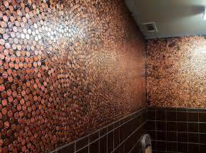 penny tiles: how to tile your bathroom penny lovers  of  potty mouth tours