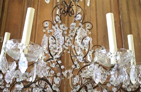 vintage  light italian chandelier victorian dining