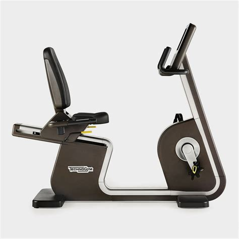 Recline Js by Artis 174 Recline Exercise Bikes Technogym Technogym