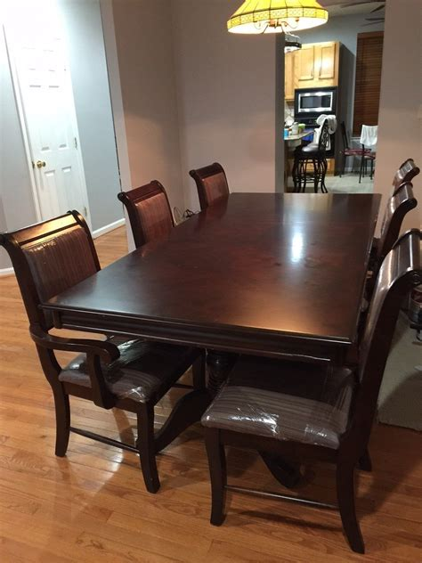 7 formal dining room furniture set table 8 chairs