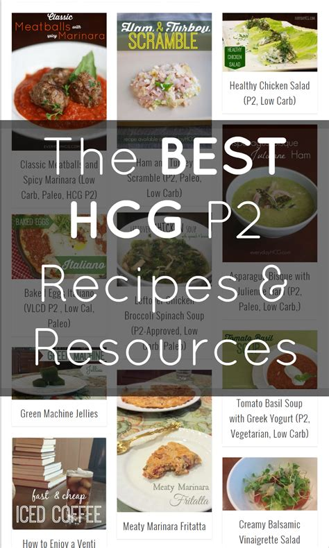 printable hcg recipes the best hcg p2 recipes and our blogiversary everyday hcg