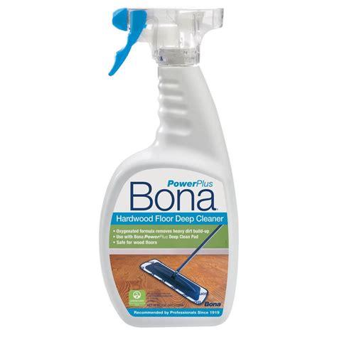 bona  oz powerplus deep clean hardwood floor cleaner wm  home depot