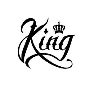 queen tattoo cursive king kings crown script modern tattoo car truck laptop