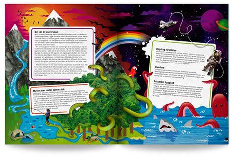 yearbook layout behance universeum
